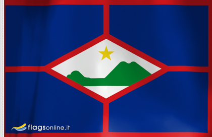 fahne Sint Eustatius, flagge von Sint Eustatius