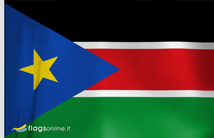 Southern Sudan table flag