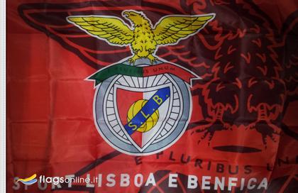 drapeau Sport Lisboa e Benfica officiel