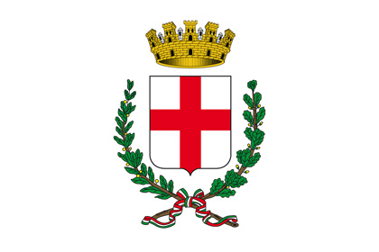 Milan coat of Arms flag