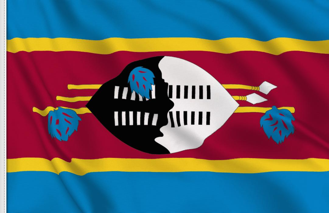 Swasiland Aufkleber, Autoaufkleber Flaggen von Swasiland