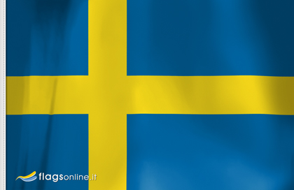 flag sticker of Sweden