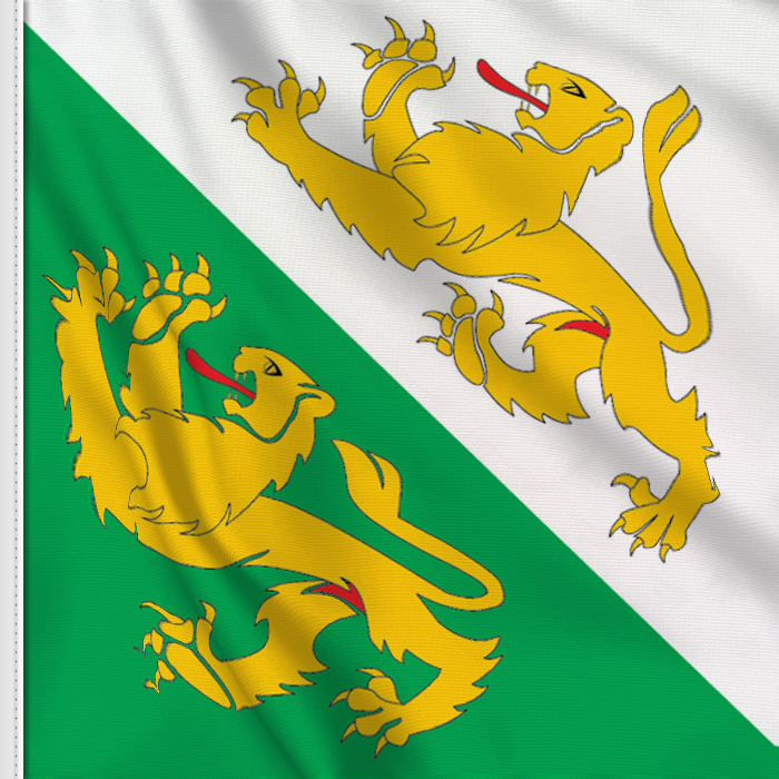Flag sticker of Thurgau