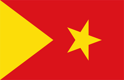 fahne Tigray, flagge du Tigray