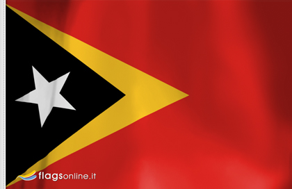 East Timor table flag