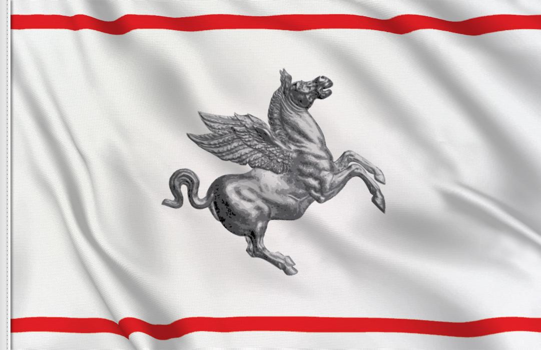 Toskana aufkleber fahne