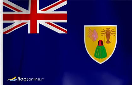 Turks und Caicos fahne