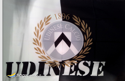 fahne Udinese, flagge von Udinese