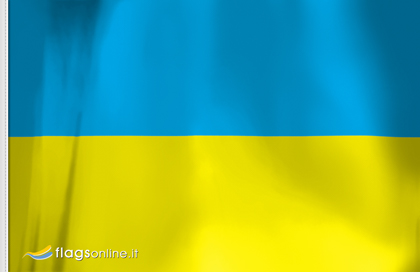 drapeau de table Ukraine