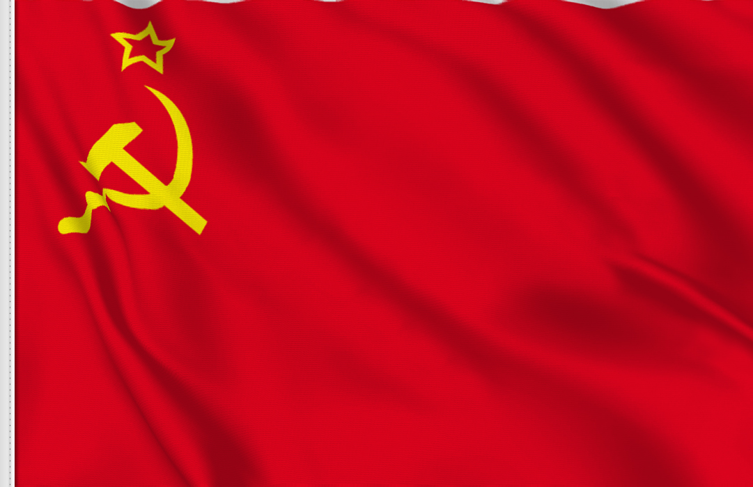 flag sticker of USSR