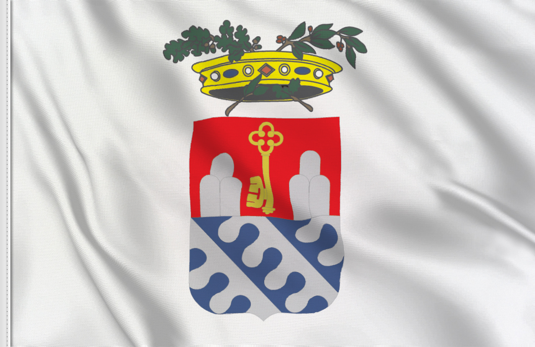 fahne Verbania Provinz, flagge von Verbania