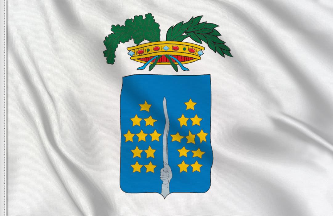 fahne Vercelli Provinz, flagge von Vercelli