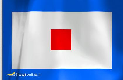 Letra W flag