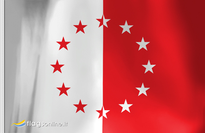 fahne Walser Ossola, flagge der Kolonien Walser von Ossola