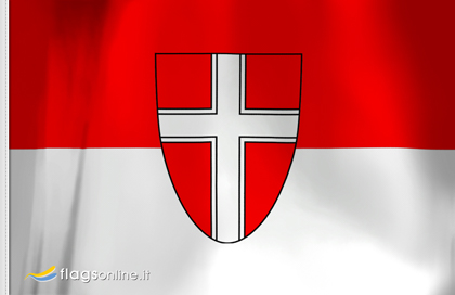 fahne Wien, flagge von Wien