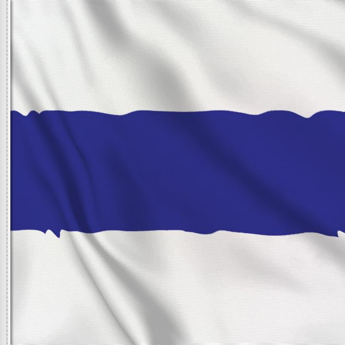 flag sticker of Zug