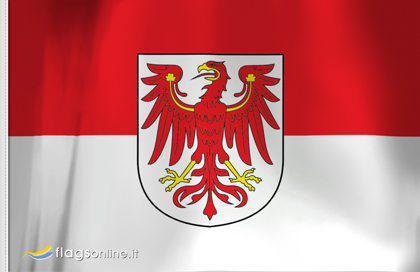 fahne Brandeburg, flagge von Brandeburg
