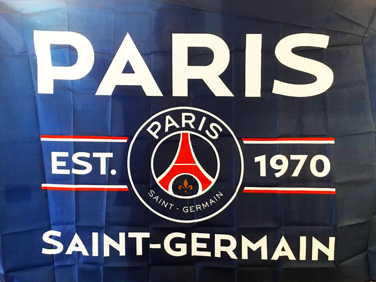 Paris Saint Germain Football Club Flag