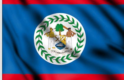 Flag Belize