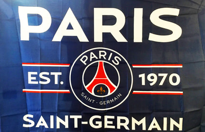 Bandera Paris Saint-Germain Football Club