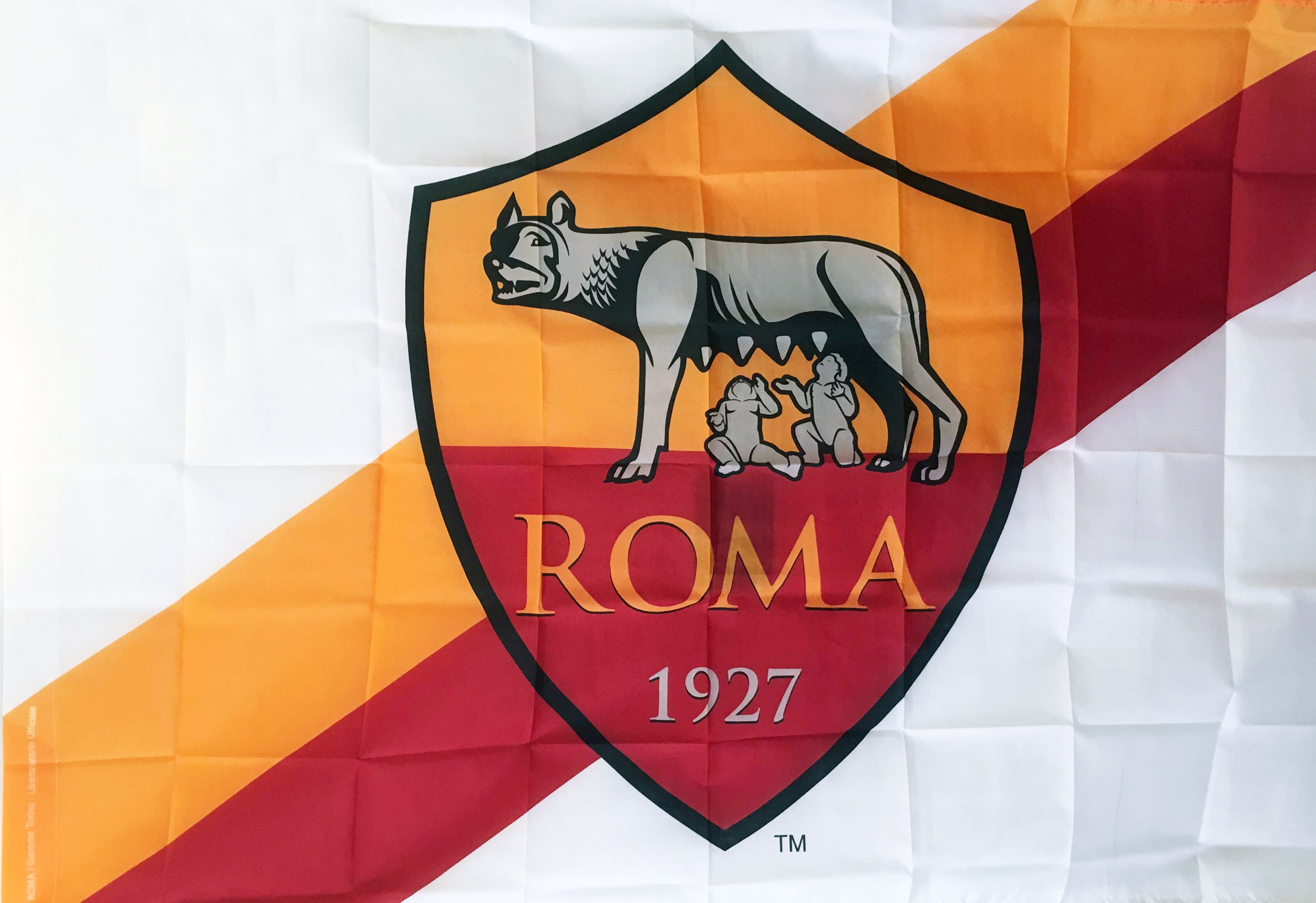 as roma bandiera