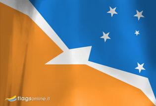 Flag Tierra del Fuego