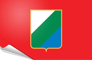 Pegatinas adesivas Abruzzo