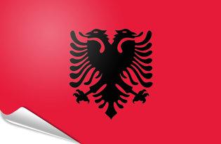 Pegatinas adesivas Albania