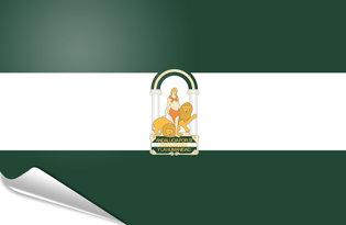 Pegatinas adesivas Andalusia