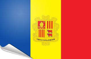 Pegatinas adesivas Andorra