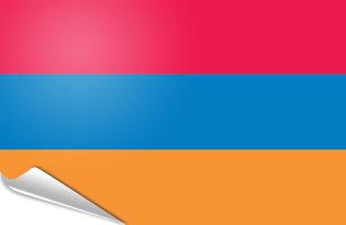 Adhesive flag Armenia