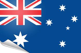 Adhesive flag Australia