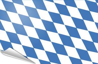 Adhesive flag Munich