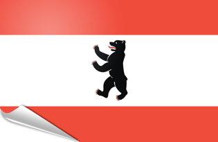 Adhesive flag Berlin