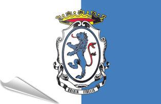 Adhesive flag Brescia City