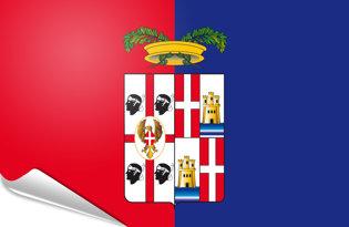 Pegatinas adesivas Cagliari-provincia
