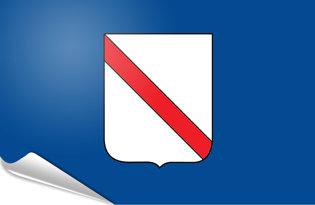 Adhesive flag Campania
