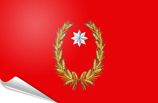 Adhesive flag Campobasso Province