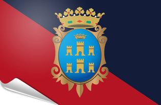Adhesive flag Campobasso City