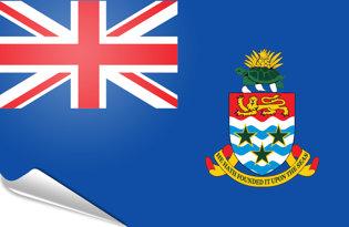 Pegatinas adesivas Islas Cayman