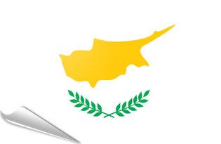 Pegatinas adesivas Chipre