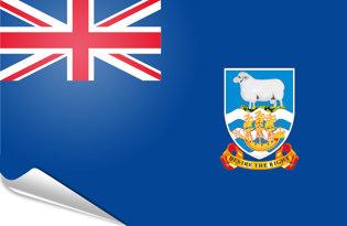 Pegatinas adesivas Islas Malvinas