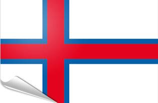 Pegatinas adesivas Islas Faroe