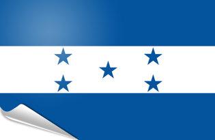 Adhesive flag Honduras
