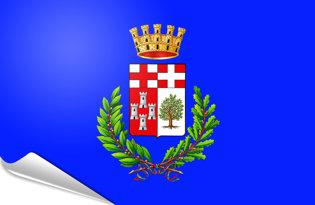 Adhesive flag Imperia