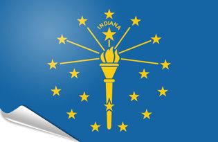 Pegatinas adesivas Indiana