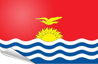 Adhesive flag Kiribati