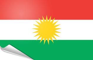Pegatinas adesivas Kurdistan
