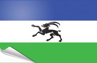 Adhesive flag Ladins