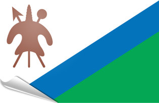 Pegatinas adesivas Lesotho